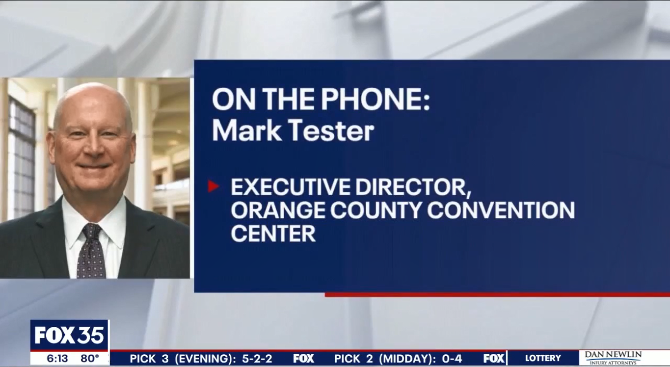 Fox 35 Interview with Mark Tester