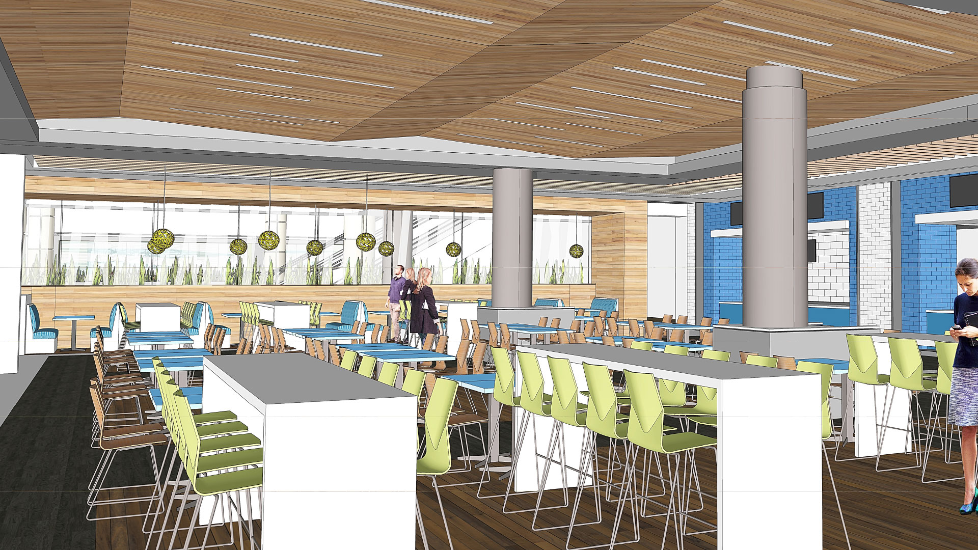 Food court renovations underway at the Orange County Convention Center's West concourse