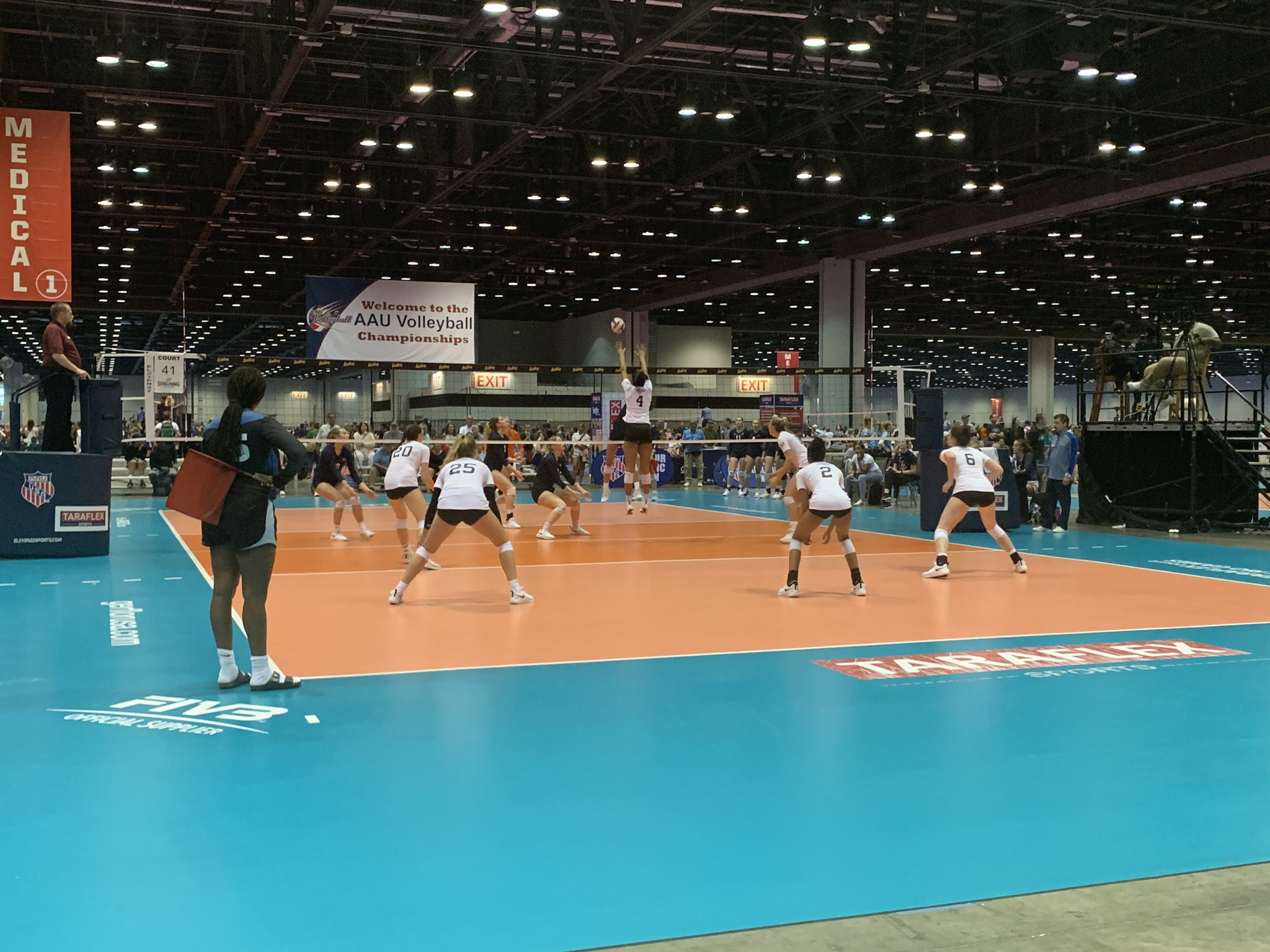 Amateur Athletic Union Junior National Volleyball Championships Welcomes Thousands to the Orange County Convention Center