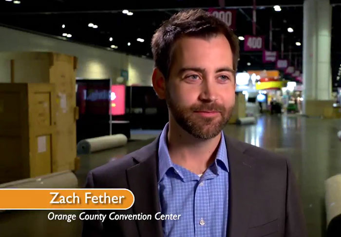 Zach Fether - OCCC Exhibitor Services Supervisor