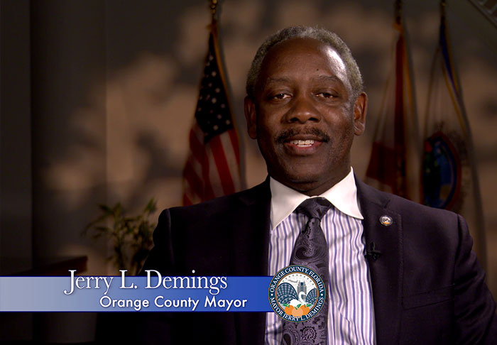 Greeting from Orange County Mayor Jerry L. Demings